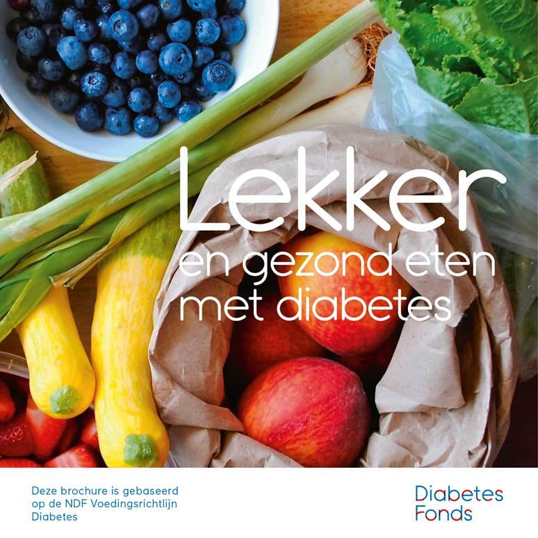 Gratis brochure 'Lekker en gezond eten met diabetes'